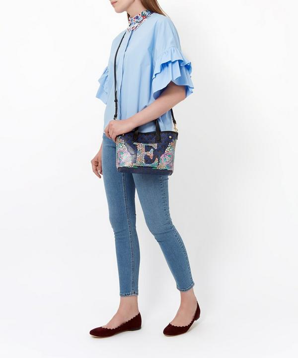 Mini Marlborough Tote Bag in N Print