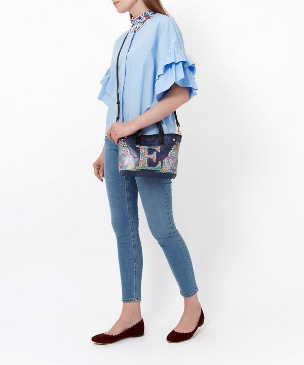 Mini Marlborough Tote Bag in P Print