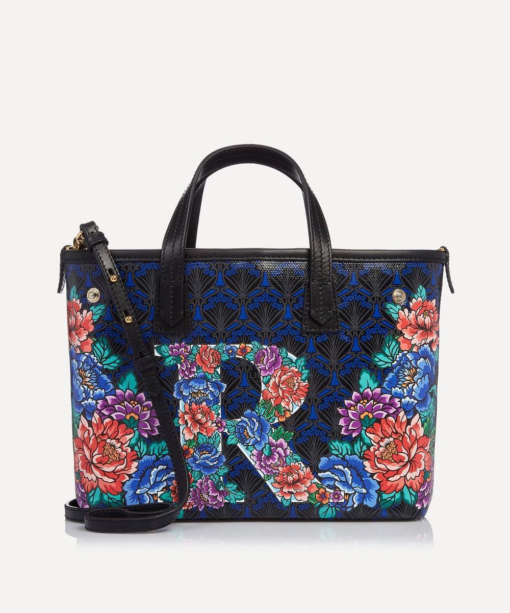 Mini Marlborough Tote Bag in R Print
