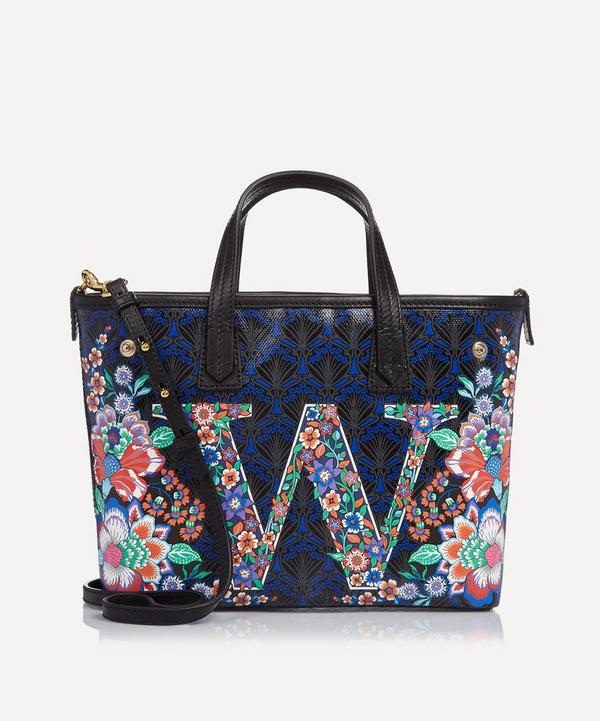 Mini Marlborough Tote Bag in W Print