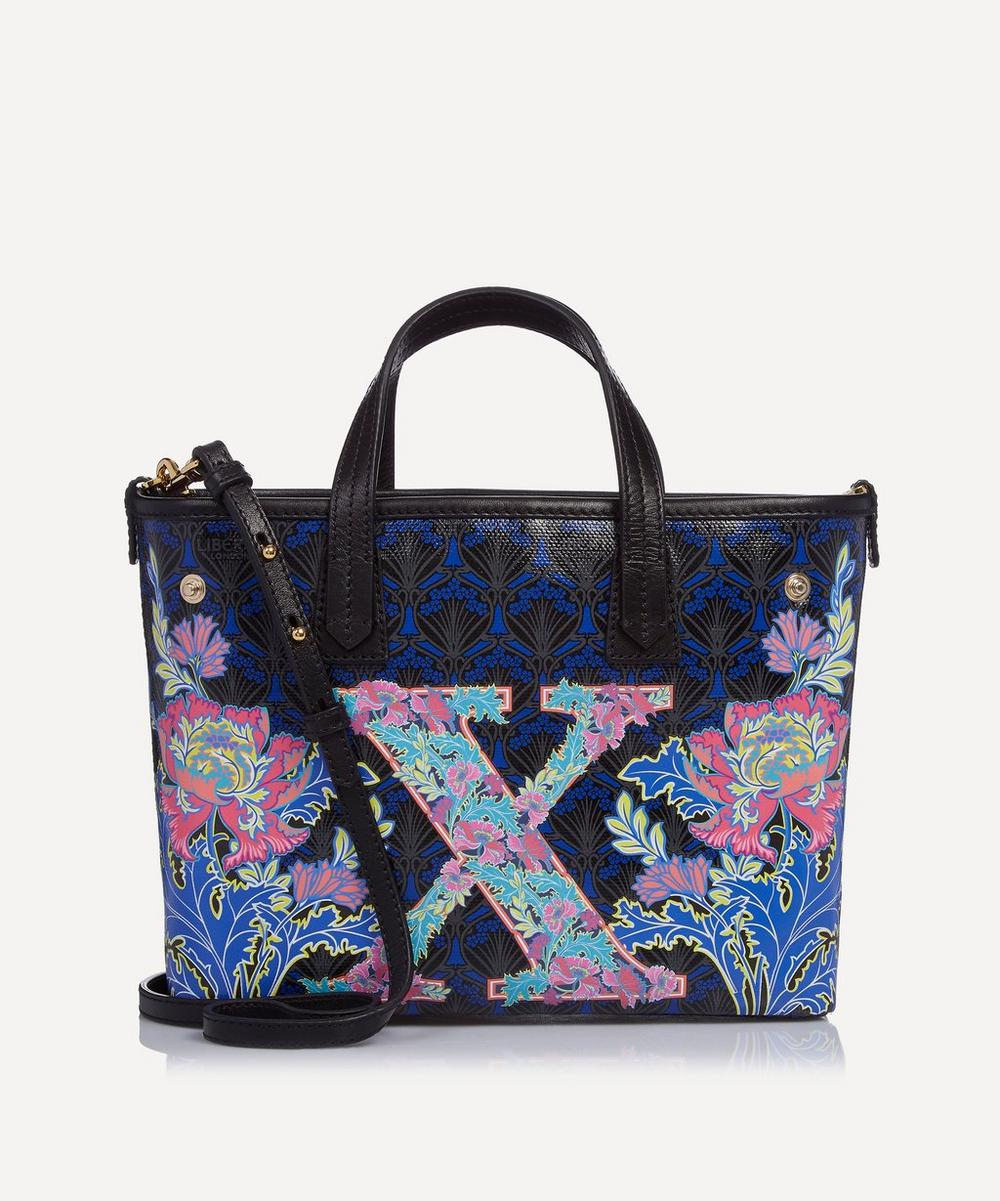 Mini Marlborough Tote Bag in X Print