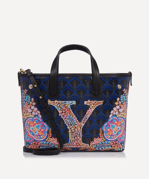 Mini Marlborough Tote Bag in Y Print
