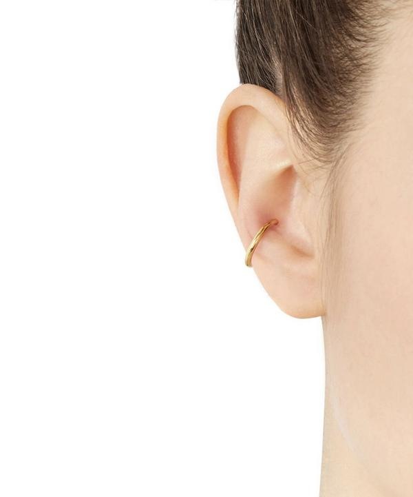 Gold-Plated Twin Medi Ear Cuff