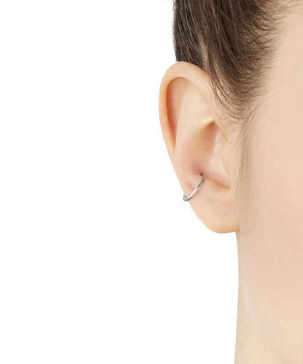 Silver Twin Medi Ear Cuff