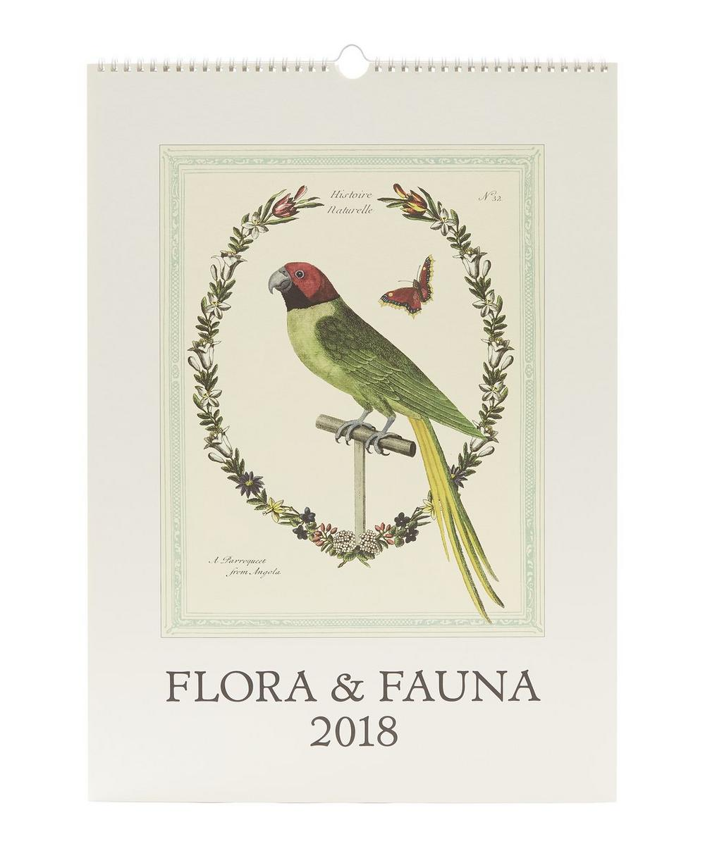 Flora and Fauna Wall Calendar
