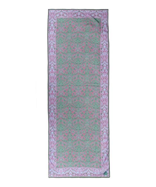 Morris Floral 70 x 180 Silk Chiffon Scarf