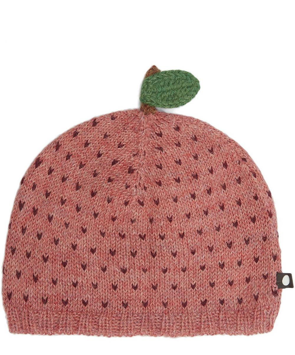 Rose Apple Knitted Hat