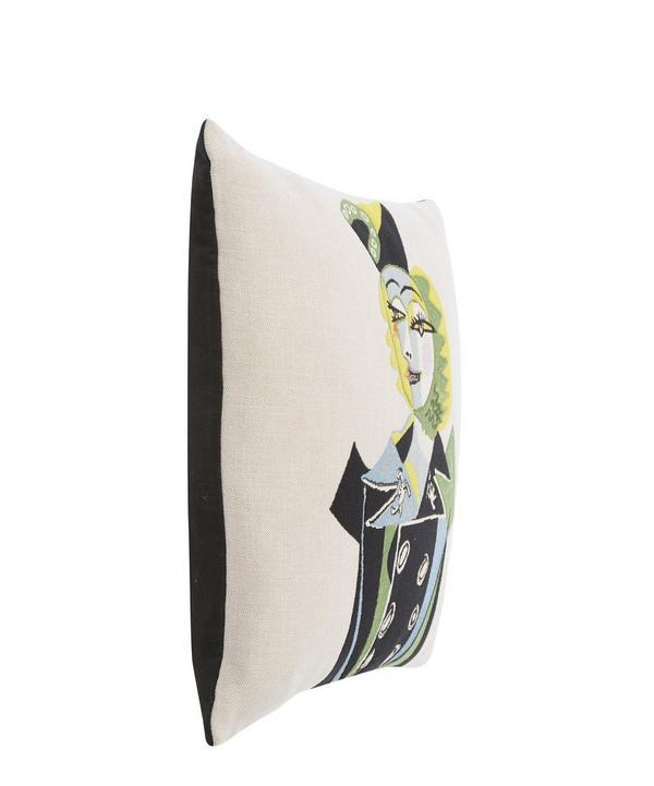 Nusch Éluard 1937 Picasso Tapestry Cushion