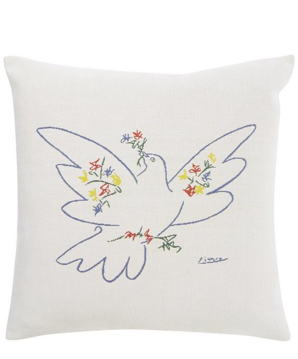 Colombe Festival 1957 Picasso Tapestry Cushion