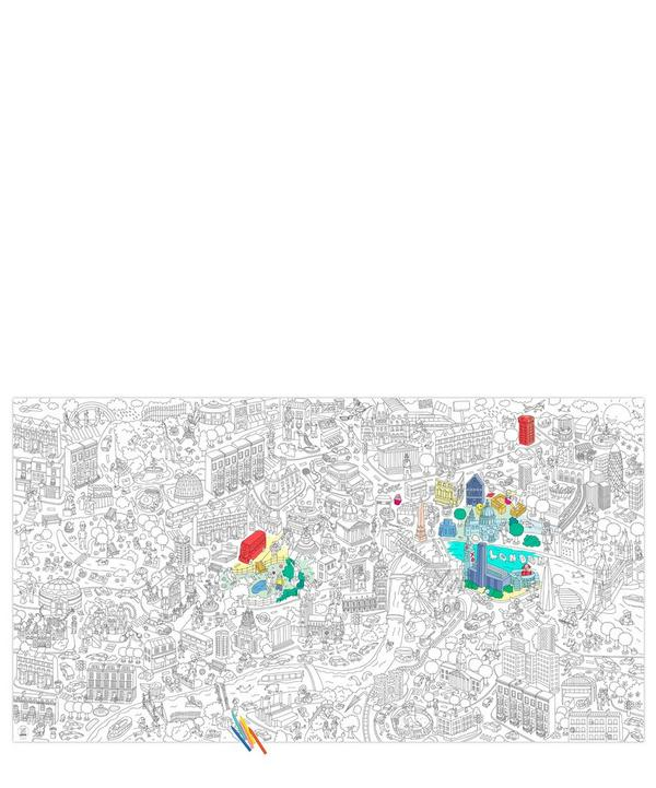 London Giant Colouring Roll
