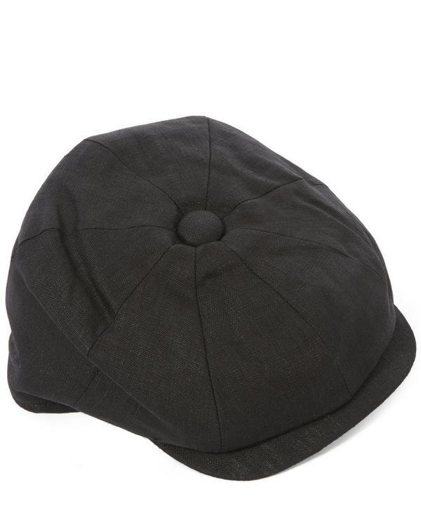 8 Piece Linen Baker Boy Hat