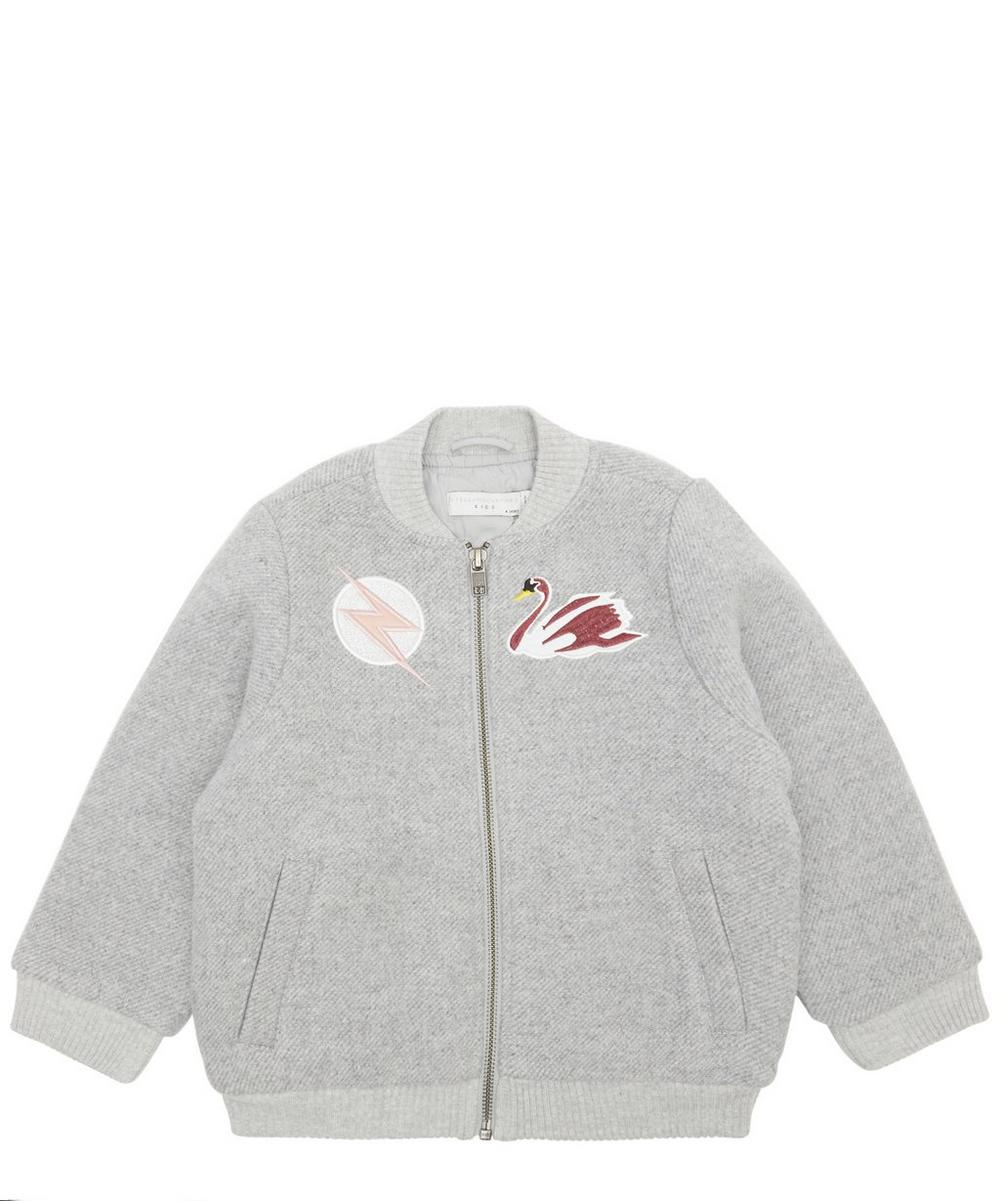 Swan Patch Bomber Jacket 2-6 Years