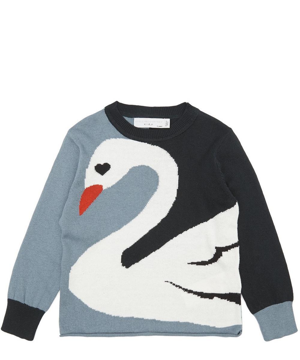 Lucky Swan Knit Jumper