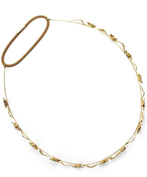 Gold-Plated Margaux Bandeaux Headband