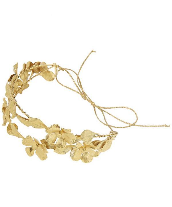Gold Sabrina Circlet Headpiece