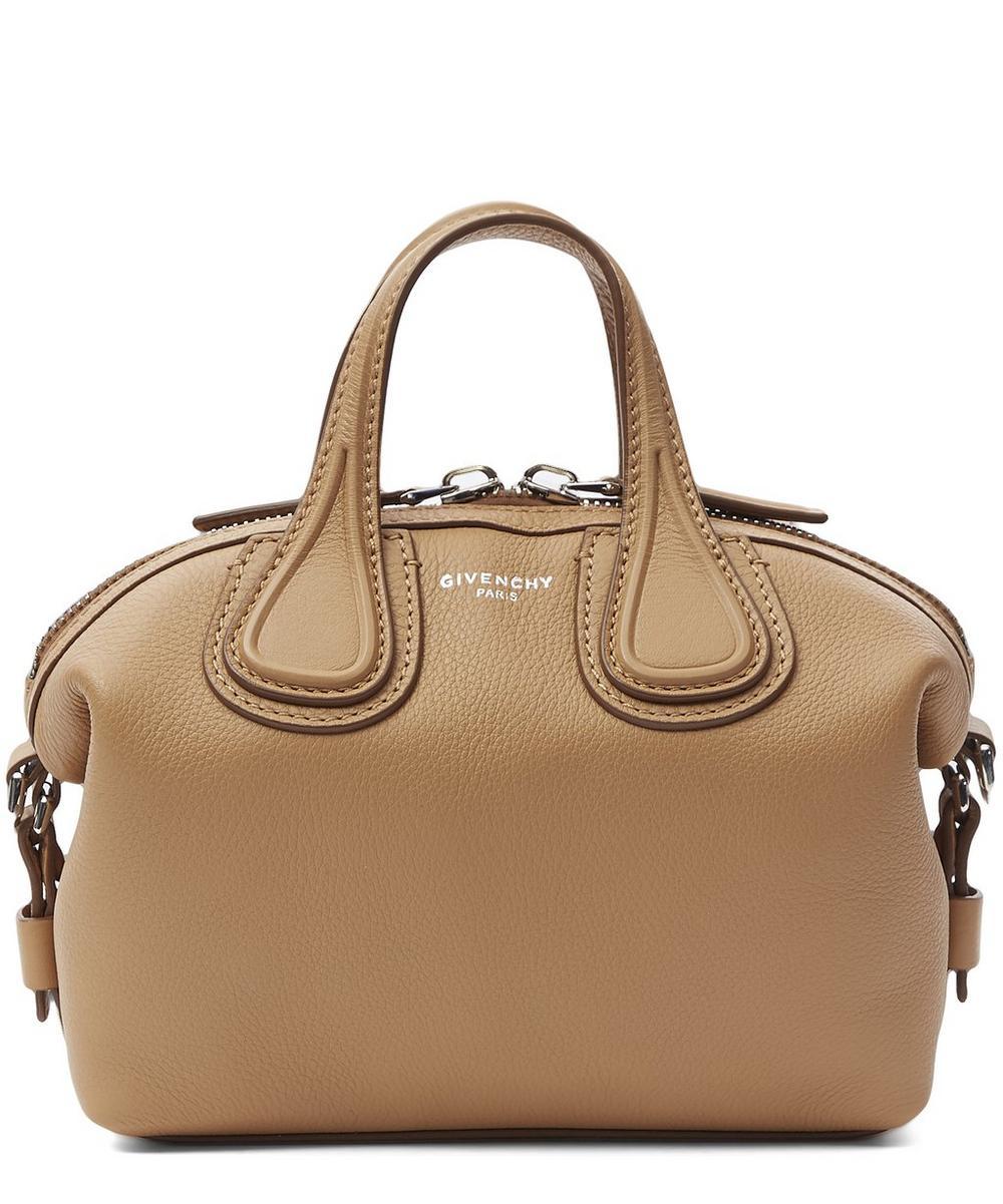 Mini Waxy Leather Nightingale Bag