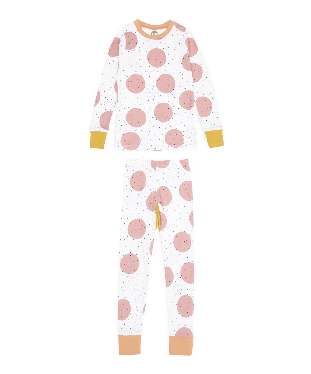 Giant Spot Slim Jyms Pyjamas 1-2 Years