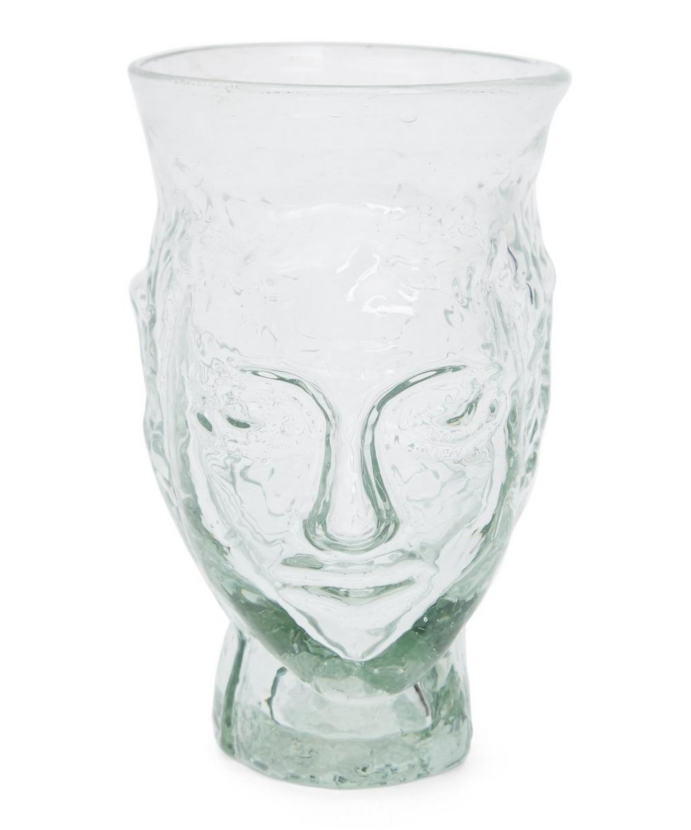 Tête Drinking Glass