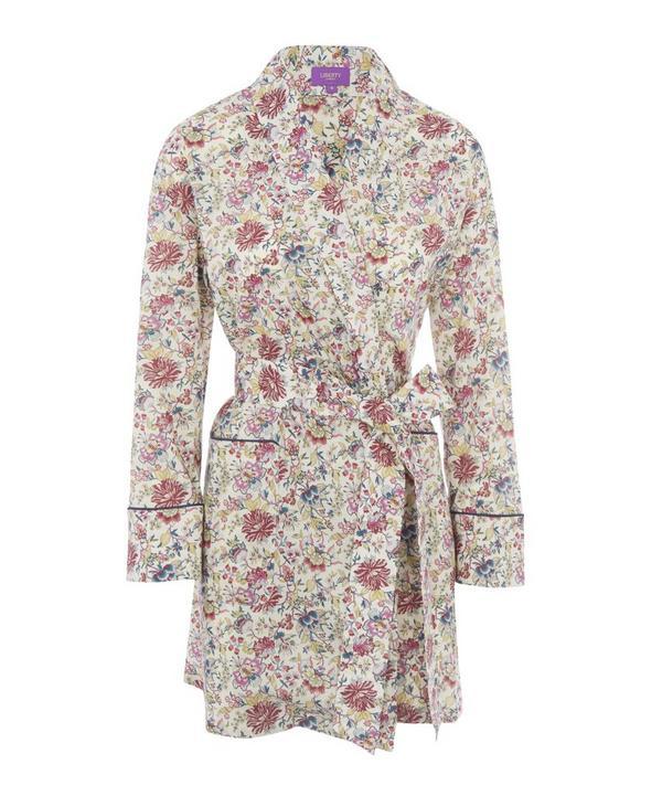 Christelle Short Cotton Robe