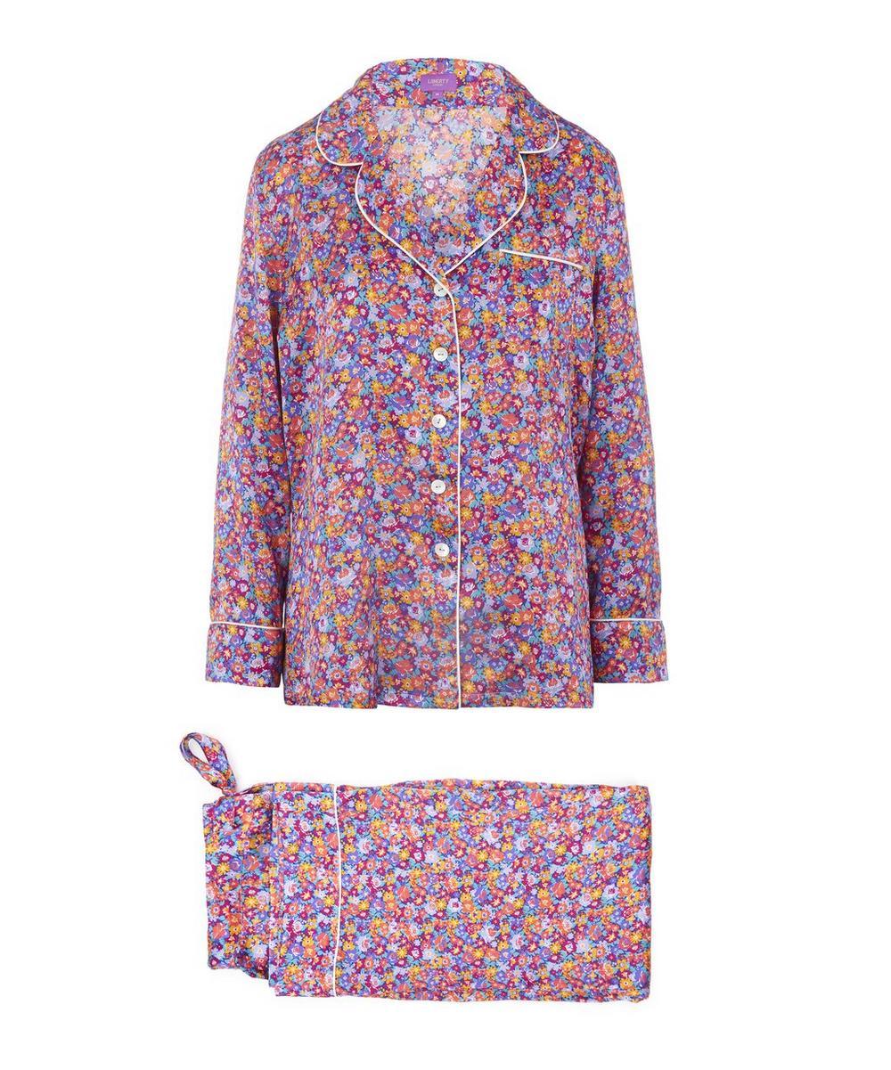 Carolina Long Silk Pyjama Set