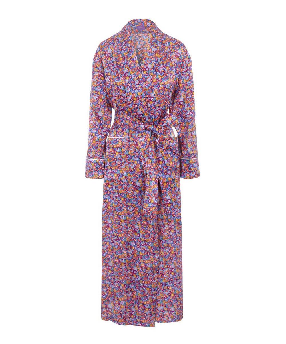 Carolina Long Silk Robe