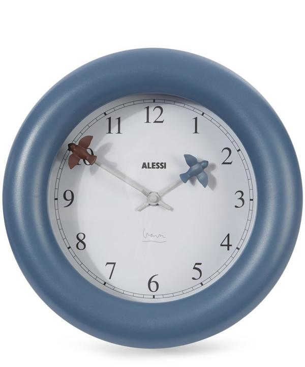 Bird Kitchen Clock