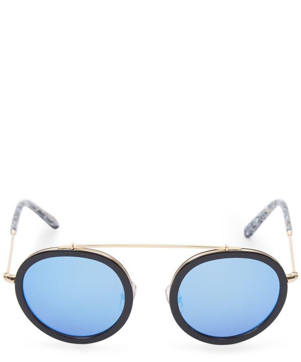 Gold-Plated Conti Sunglasses