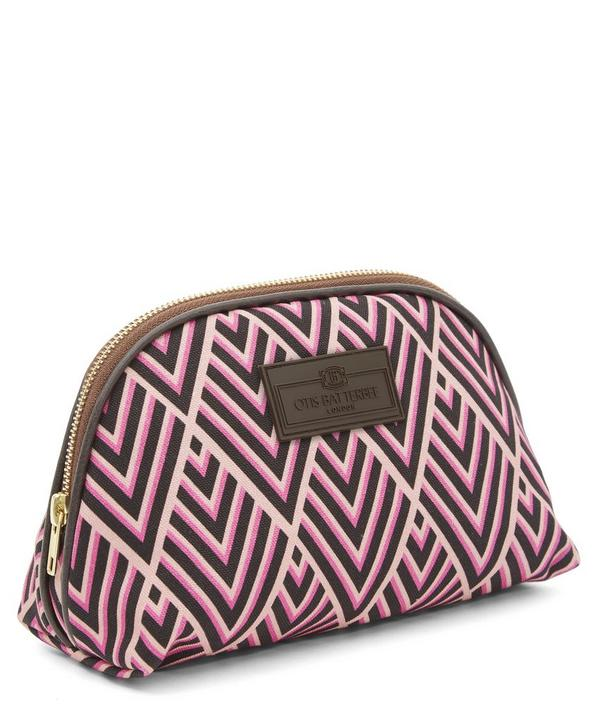 Small Deco Print Make Up Bag
