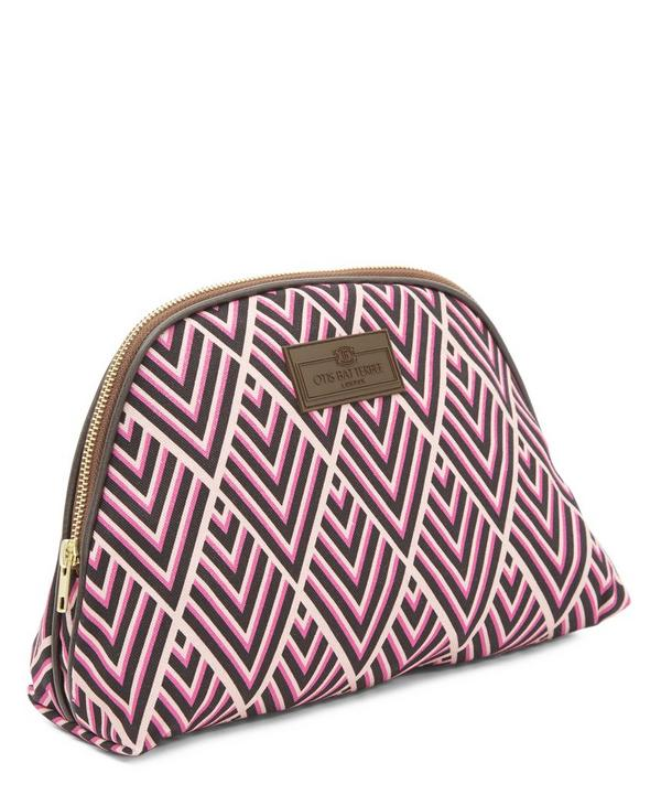 Large Deco Print Make Up Bag