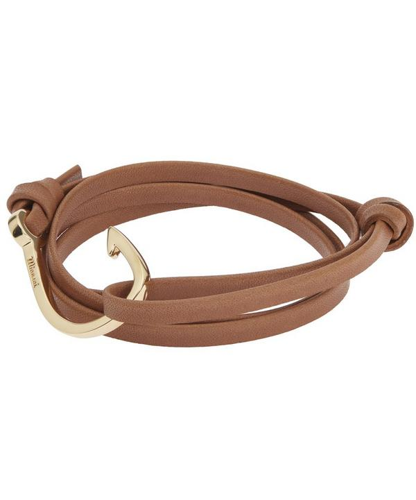 Hook on Leather Bracelet