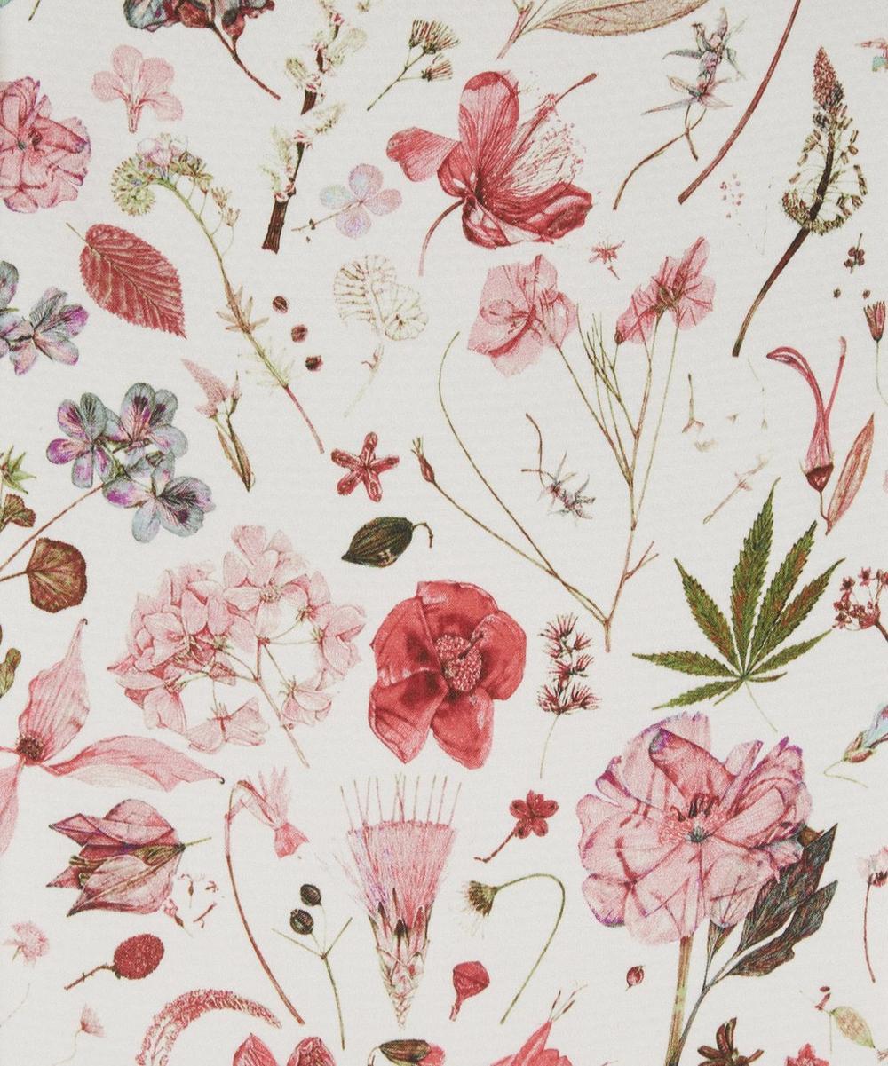 Floral Eve Clemments Hammered Satin