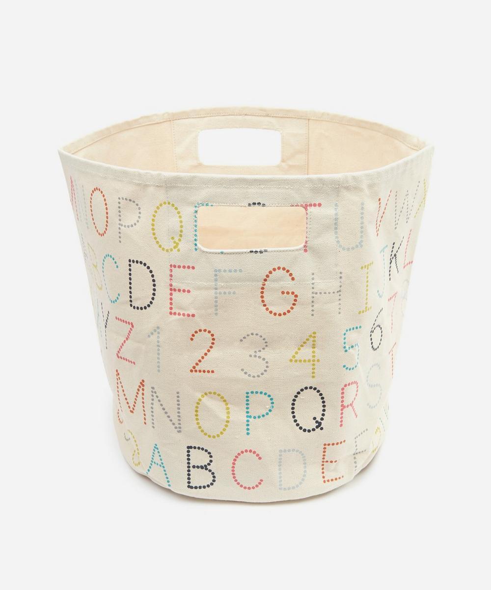 Alphabet Storage Bin