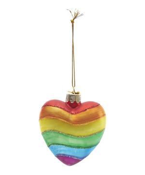 Glass Rainbow Love Is Love Decoration