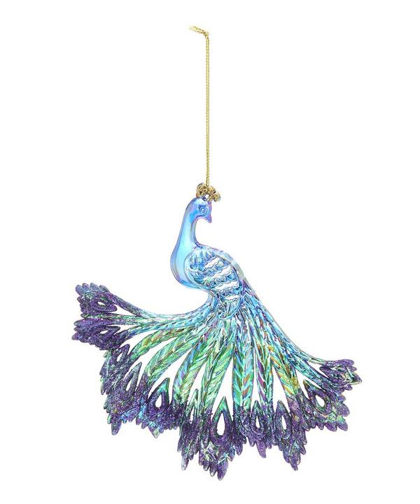 Fan-Tail Peacock Decoration