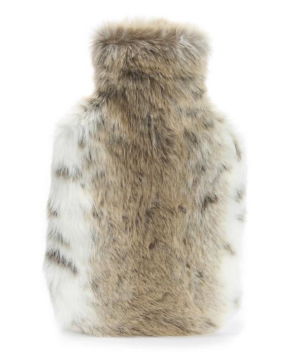Lynx Faux Fur Hot Water Bottle