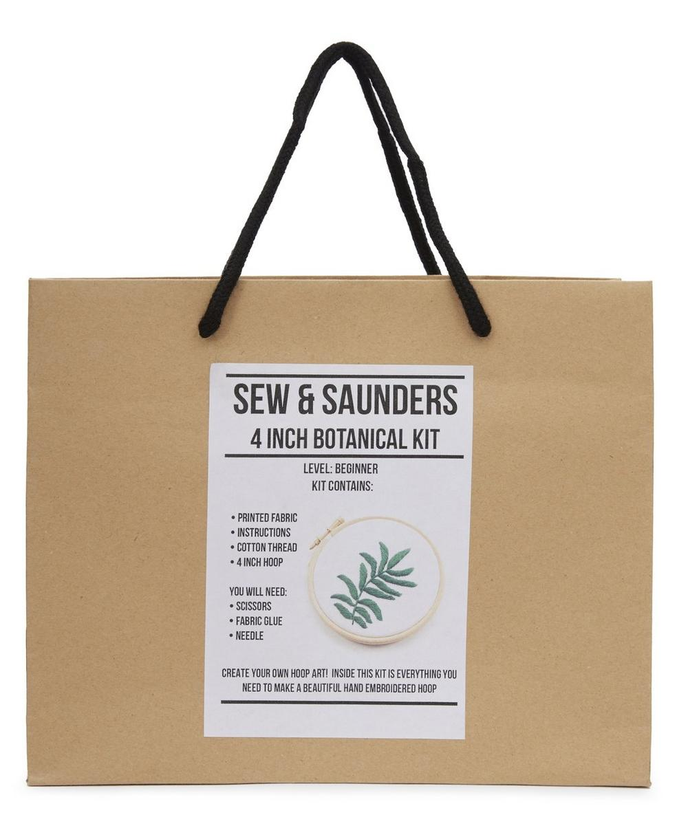 4 Inch Green Spinosa Embroidery Kit