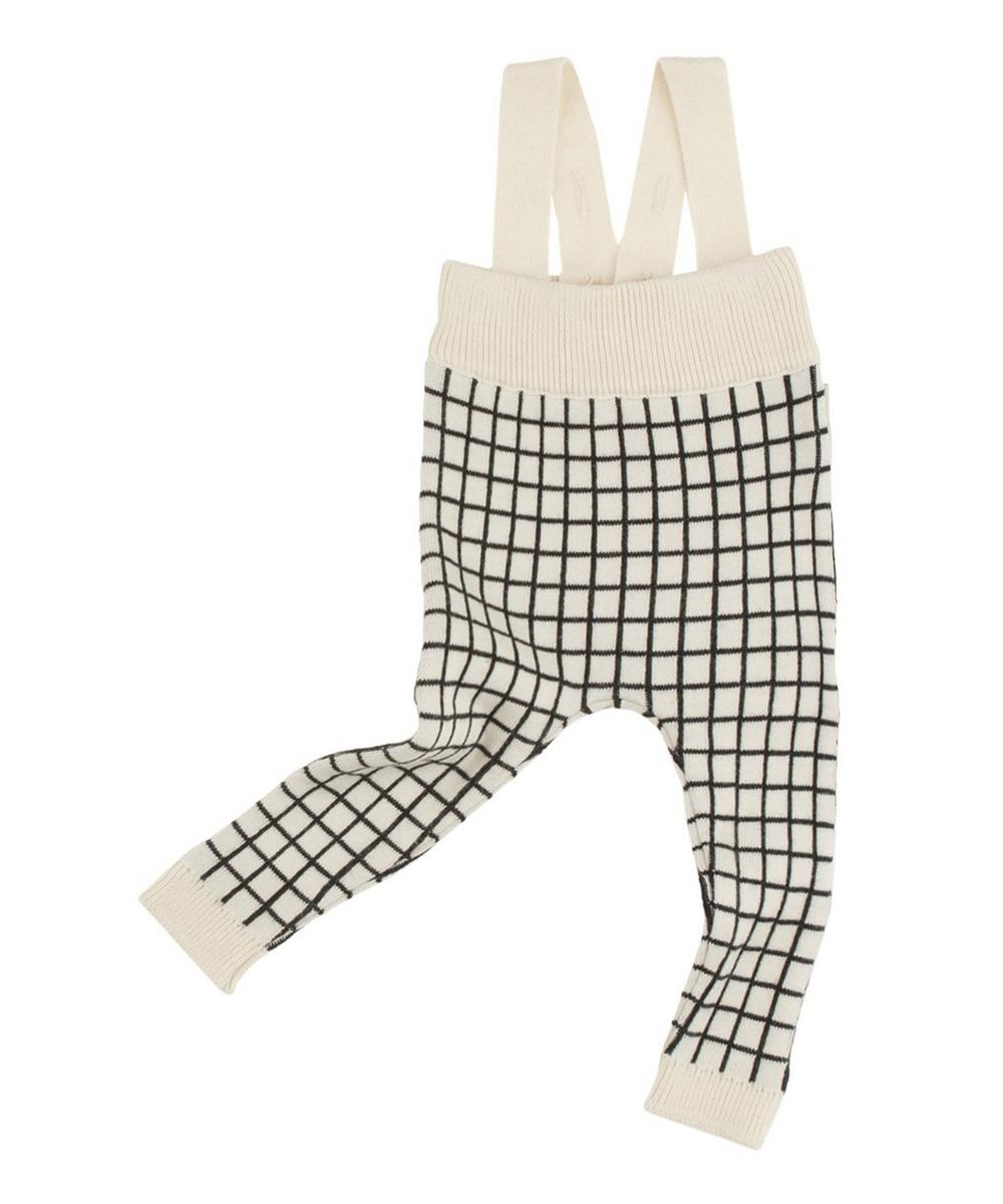 Grid Braced Trousers 0-18 Months