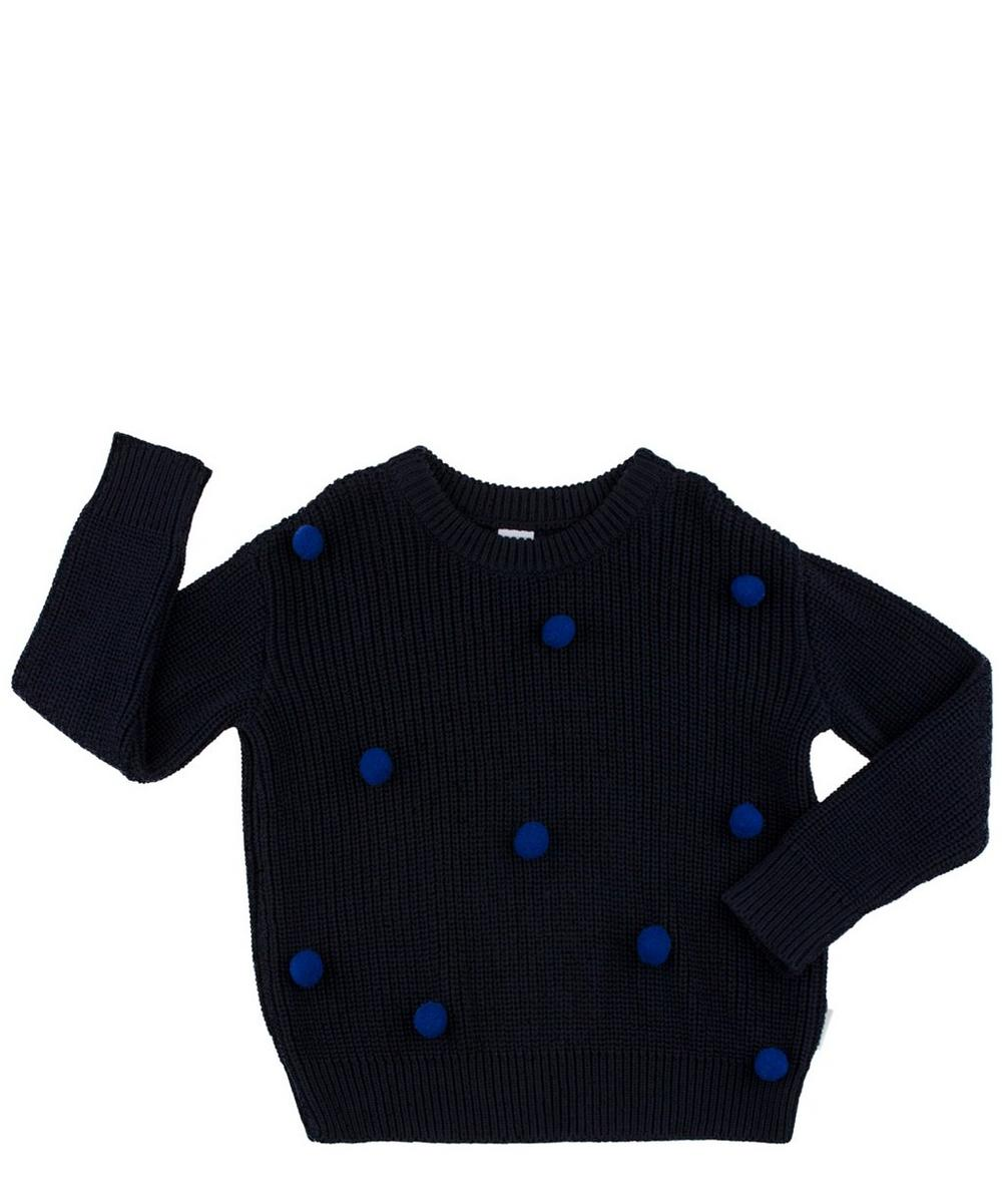 Oversized Pom Poms Sweater 12-18 Months