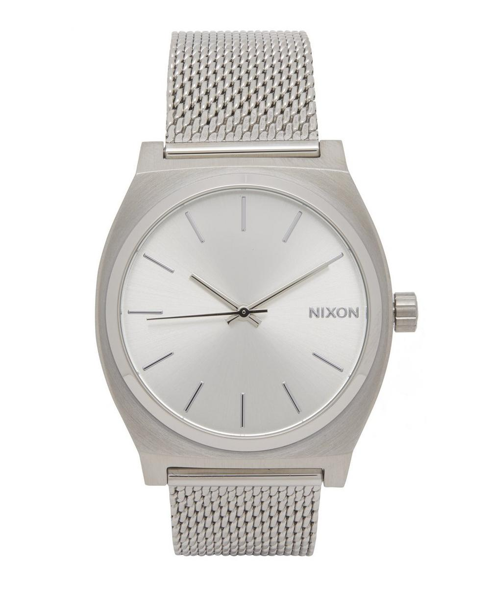 Time Teller Milanese Silver-Tone Watch