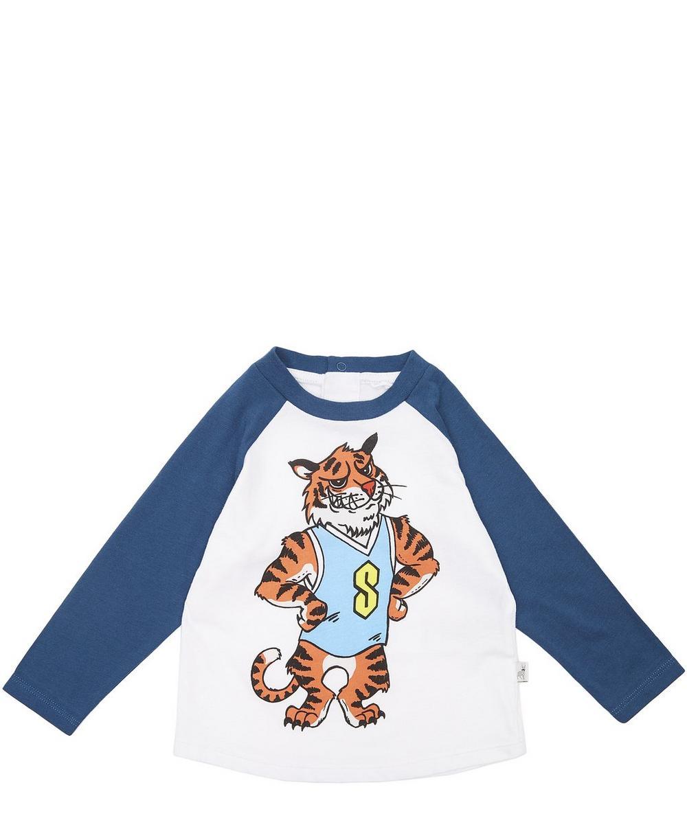 Max Tiger Print Long Sleeve T-Shirt