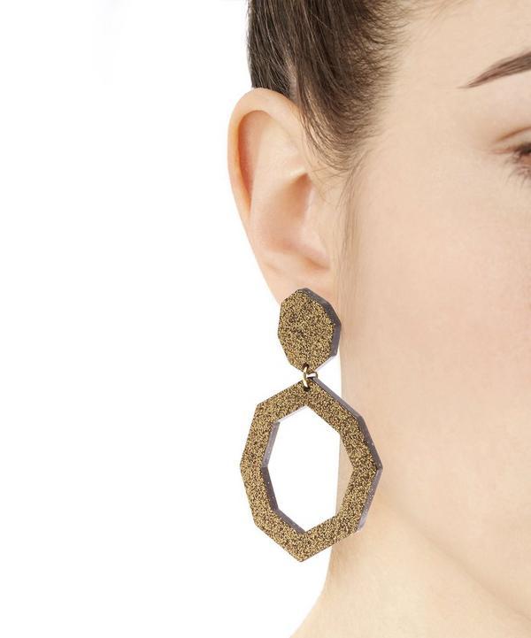 Eurydice Glitter Resin Earrings