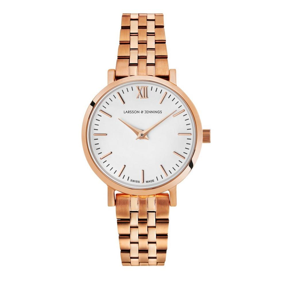 Lugano 26mm Rose Gold Watch