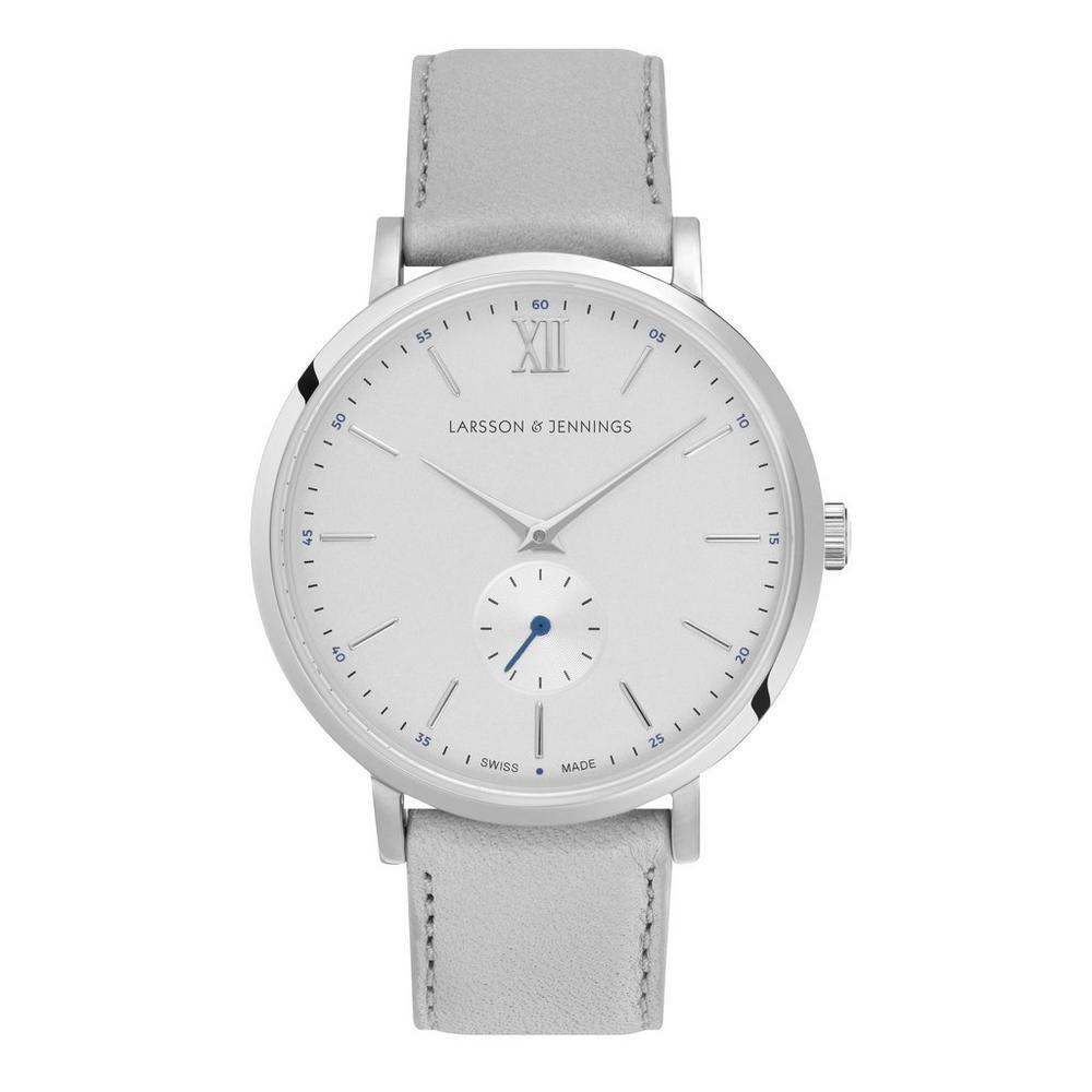 Lugano Kulor 38mm Stainless Steel and Leather Watch