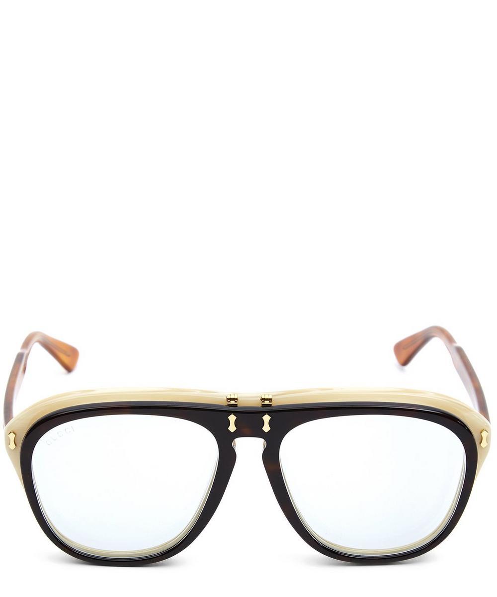 Runway Flip-Up Sunglasses