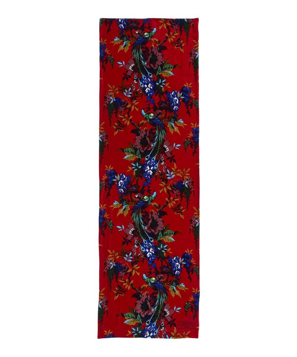 Delphine 60 x 180 Velvet Scarf