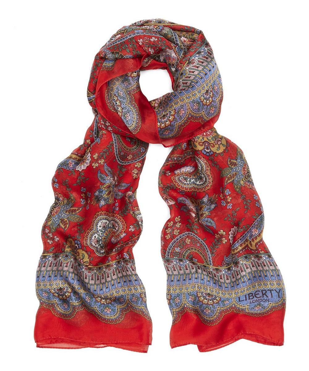 Florence 110 x 130 Paisley Scarf