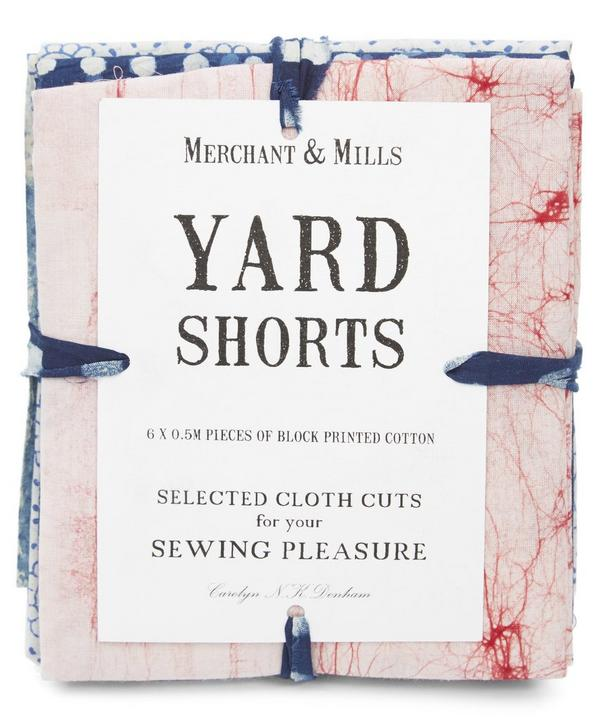 Indigo Yard Shorts
