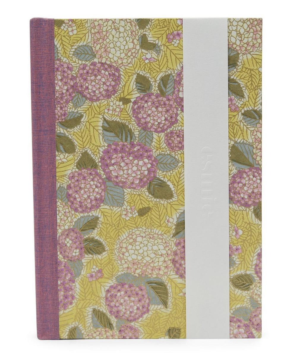 Esmie Purple Hydrangeas Medium Journal