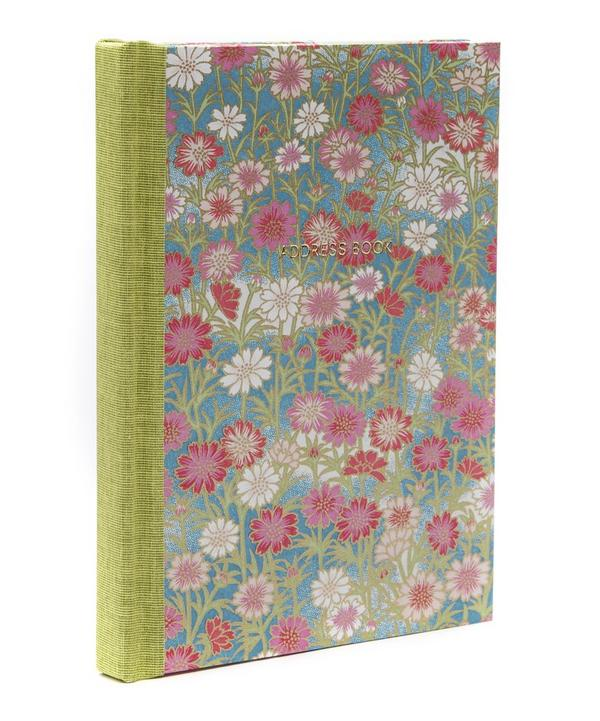 Pink and Red Daisies Pocket Address Book