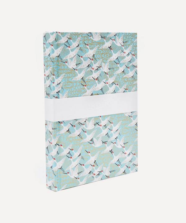 White Cranes Medium Notebook